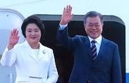 """문 대통령 """"이번 방북으로 北美대화 재개되면 그 자체 큰 의미"""""""