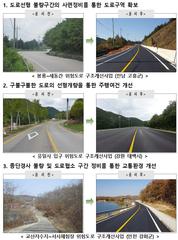 """""""올해 지방도로 위험구간 개선에 331억원 투입"""""""
