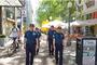 한국 경찰관 6명, 크로아티아에서 현지 경찰과 합동 순찰 실시